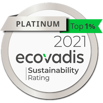 2018 Gold Level CSR Rating Ecovadis