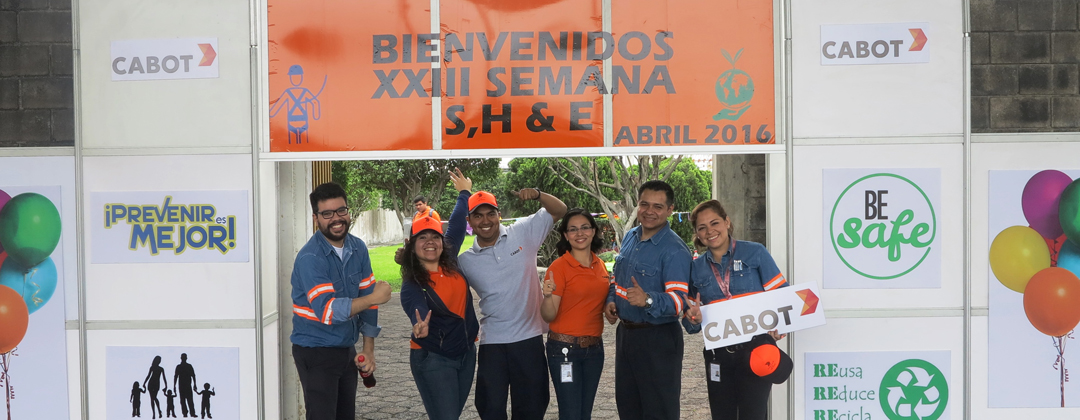 Employees celebrate Global Safety Day